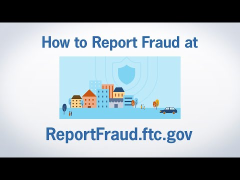 How to Report Fraud at ReportFraud.ftc.gov | Federal Trade Commission