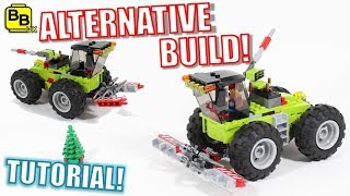 LEGO CITY 60181 ALTERNATIVE BUILD COMBINE HARVESTER!
