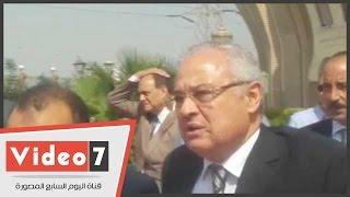 وزير السياحة وعدد من الفنانين والسياسيين يصلون جنازة ممدوح البلتاجى