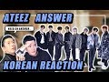 🔥ENG KOREAN Rappers react to ATEEZ에이티즈 - 'Answer' 🔥