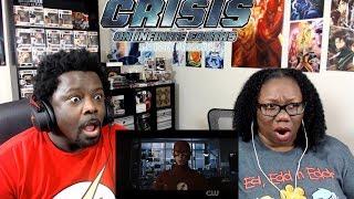 Crisis on Infinite Earths Pt 4 REACTION/DISCUSSION!! {Arrow 8x8}