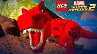 UM DINOSSAURO NO FUNDO DO MAR no LEGO Marvel Super Heroes 2 EXTRAS #59