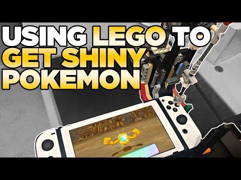 Using Lego To Catch Shiny Pokemon In Pokemon Let's Go Pikachu & Eevee