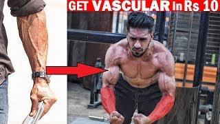HowTo Show Veins on ARMS   5 Easy Diet & Tips