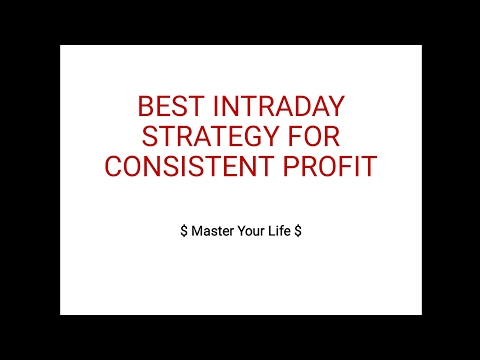 BEST INTRADAY STRATEGY FOR CONSISTENT PROFIT HINDI