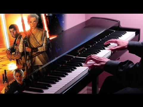 Star Wars: The Force Awakens - The Jedi Steps - Piano