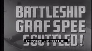 BATTLESHIP GRAF SPEE SCUTTLED PART 1 - German Navy 2048