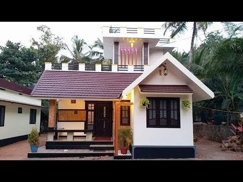 Small Budget Modern House 1000 Sft For 10 Lakh | Elevation | Design | Interiors