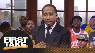 Stephen A.: Steph Curry is not in the conversation for best player in the world | First Take | ESPN