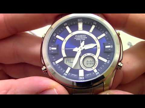 Часы Casio Outgear AMW-810D-2A - Инструкция, как настроить от PresidentWatches.Ru