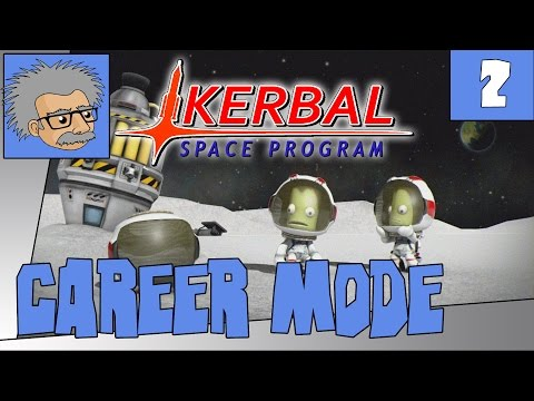 THE JEB ESCAPE - Let's Play KSP Career Mode - Ep.2 -  Kerbal Space Program | Let's Play
