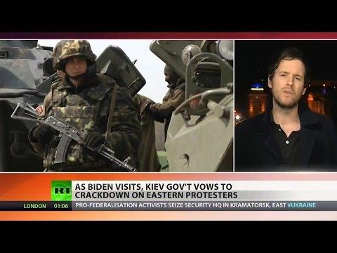 Kiev vows new crackdown on eastern Ukraine