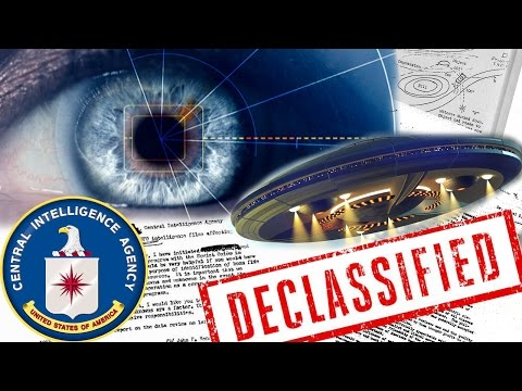 UFOs & Psychic Powers Revealed as CIA Release 800,000 Declas