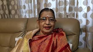 P. Susheela Amma Blessing our Cover Version of Sonnathu Neethaana by Saambavy