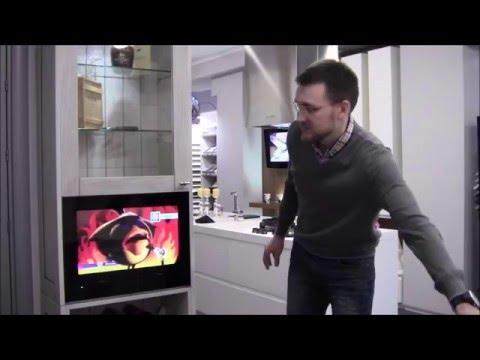 Встроенный телевизор на кухне # AVS220K: встраиваемый телевизор для кухни