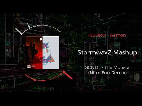 KUURO - Savage VS SCNDL - The Munsta (Nitro Fun Remix) ~ [StormwavZ Mashup]