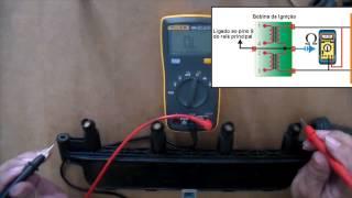 Teste da Bobina de Ignição - Peugeot 206