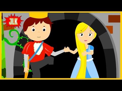 นิทาน เจ้าหญิง ราพันเซล rapunzel princess - นิทานอีสป นิทานก่อนนอน #12