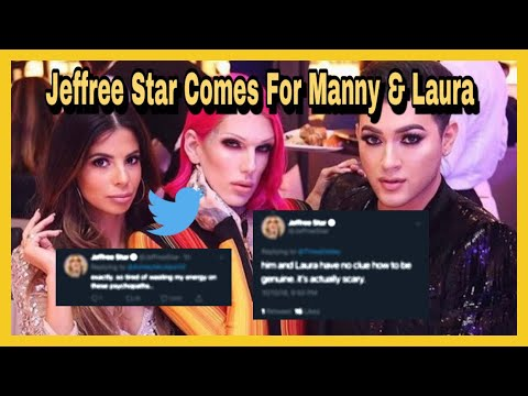 Jeffree Star Ends Manny MUA & Laura Lee On Twitter 🐦 - YouTube