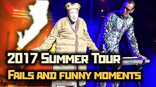 Rammstein - 2017 Summer Tour // Fails and funny moments