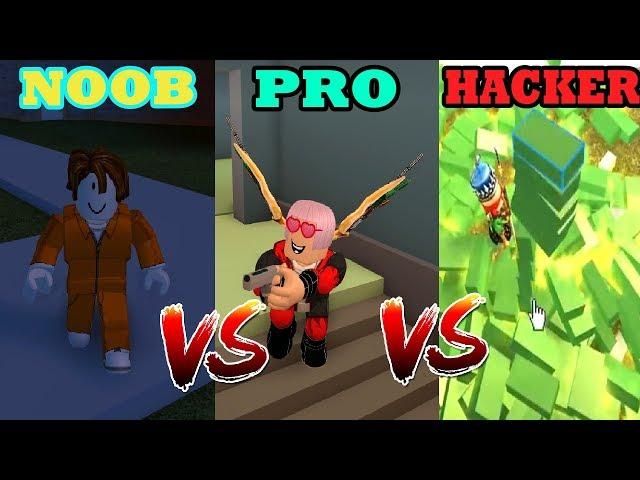 NOOB VS PRO VS HACKER JAILBREAK 2018 | MinhMaMa