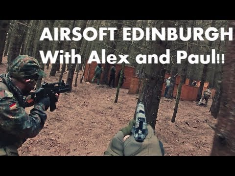 AIRSOFT - LAND WARRIOR - Edinburgh - M4 & BOMBS / FUNNY AND