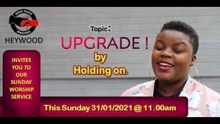 Jesus Touch Ministries Heywood | Sunday Worship Service (Online) Live| Sunday January 31st, 2021..