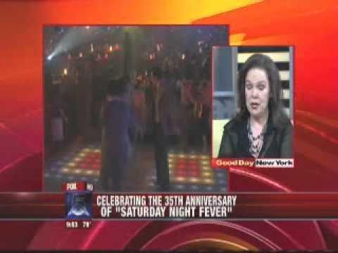 Karen Lynn Gorney on Good Day NY ting DISCO BALL @ Taj Mahal on June 23rd