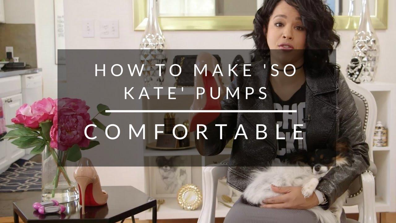 How To Make Christian Louboutin So Kate Shoes Comfortable Youtube