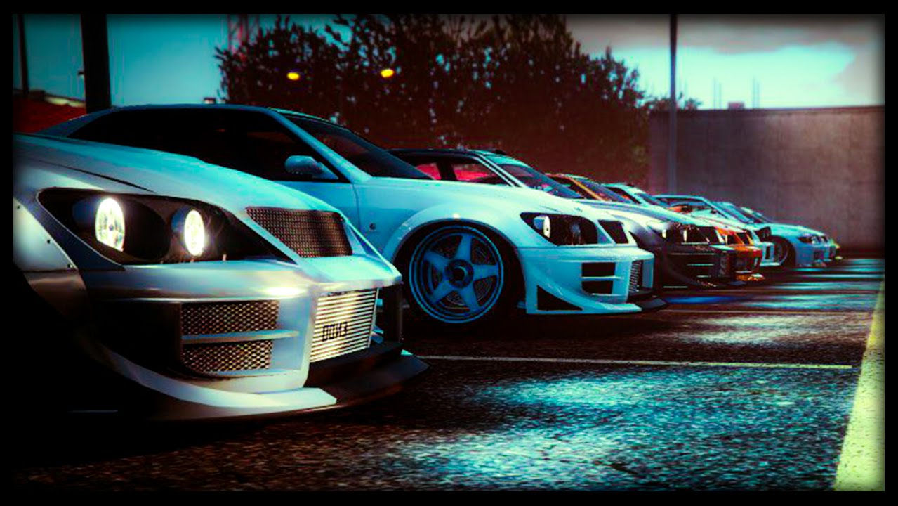 "GTA 5 Online ""SULTAN RS"" & ""BANSHEE 900R"" DLC CAR SHOW #2 ..."