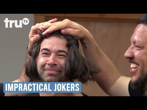 Impractical Jokers - Murr Wigs Out (Punishment) | truTV