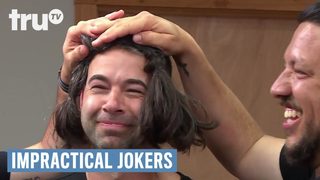 Impractical Jokers Murr Wigs Out Punishment Trutv Youtube