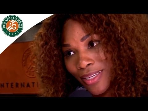 Serena Williams, the french lesson at Roland Garros