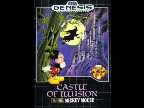 Geoff Good Gamer 29 plays Castle of Illusion Starring Mickey Mouse