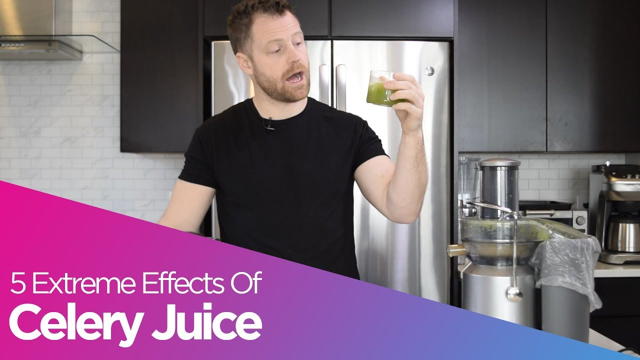 5 Extreme Effects Of Celery Juice | Dr  Livingood