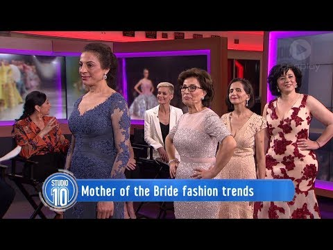 Mother Of The Bride Fashion Trends   Studio 10