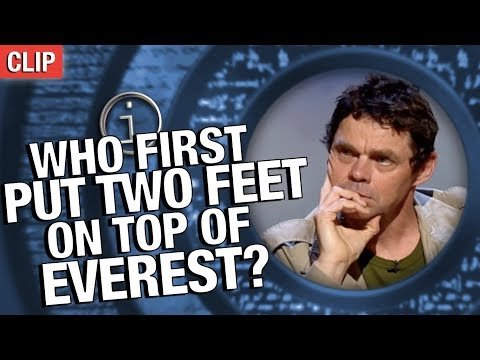 QI | Who First Put Two Feet On Top Of Everest?