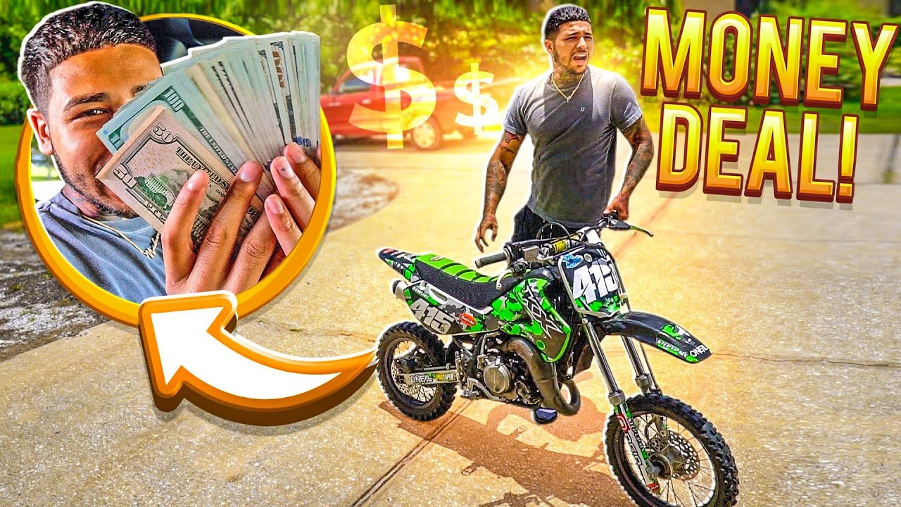 I BOUGHT 2 BRAND NEW DIRT BIKES FOR THE PRICE OF 1 !    BRAAP VLOGS