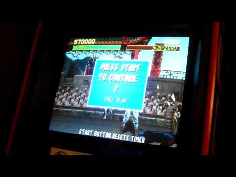 Mortal Kombat Arcade With NBA Jam Sound!