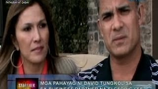 Exclusive interview kay David na dating business partner ni Cedric Lee