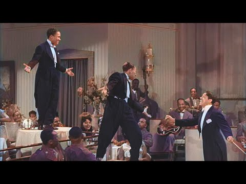 Stormy Weather in color - The Nicholas Brothers and Cab Calloway | Colorized with DeOldify