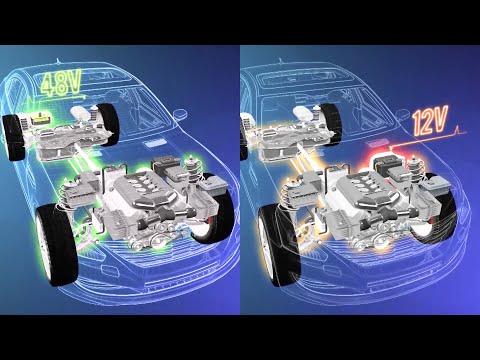 De 12 Volt, 48V y hasta 15.000 Volt coexisten en los automóviles actuales.