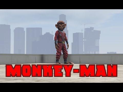 MONKEY-MAN (GTA 5 Machinima)