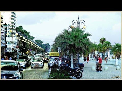 CYPERN - LARNACA, Strand Promenade und Boulevard