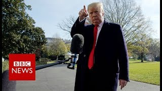 "Trump claims lawyer Michael Cohen is ""lying to reduce his sentence""- BBC News"