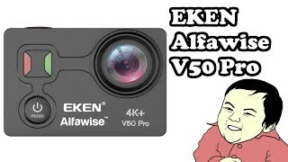 EKEN V50 Pro Alfawise 4k action camera из магазина GearBest. #539