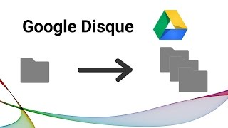Copier des dossiers complets dans Google Disque