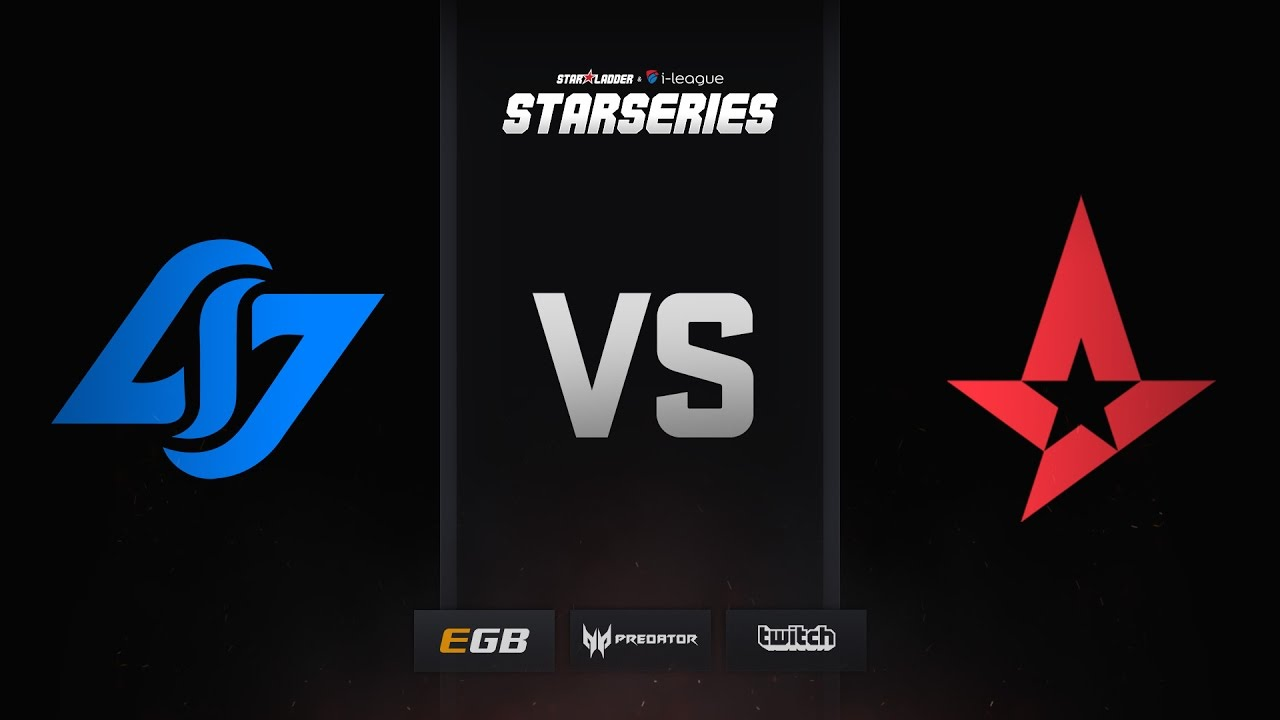 Astralis vs CLG, train, SL i-League StarSeries Season 3 Finals