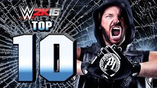 WWE 2K16 : AJ Styles Top 10 Moves