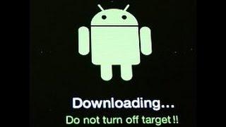 Sistema Android - Downloading do not turn off target - Como resolver este problema?
